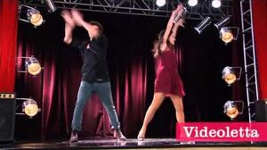 "Violetta 2 English - Diego and Fran dancing (""More Tears"") Ep"