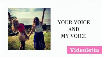 Violetta 3 English More than just two (Lyrics Video)