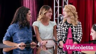 "Violetta 3 English Girls sing ""We grew together"" Ep.72"