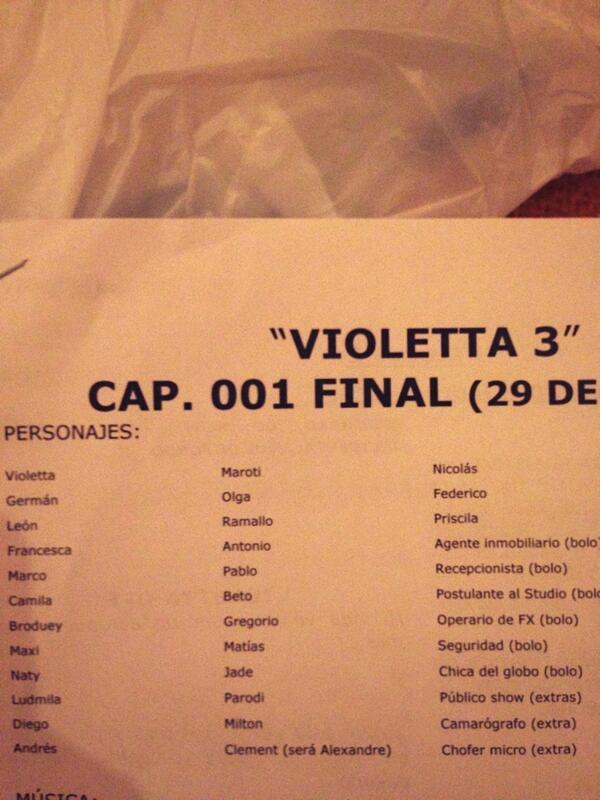 Violetta in spaniola online dating