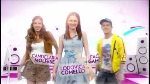 Pelo Mundo - Mayra Arduini - abertura dublada de Violetta - Disney Channel Brasil