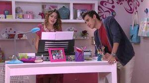 Violetta Vilu canta ¨Soy mi mejor momento¨ (Ep 79 Temp 2)