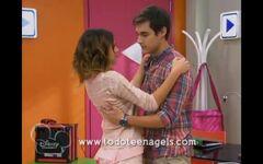 Violetta y Leon