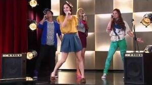 "Violetta 2 English - Francesca sings ""Being Stars"""