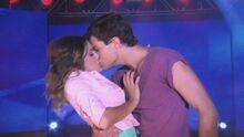 Dieletta 1st kiss