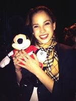 Cande and Mickey Mouse