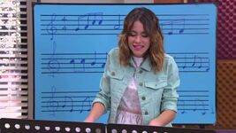 Violetta playig at the piani