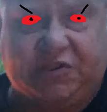 Bill mad
