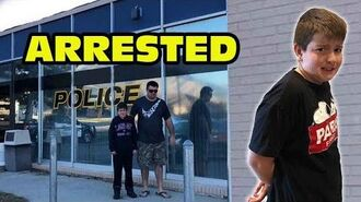 Kid Temper Tantrum Gets Arrested When Skipping School -Original-