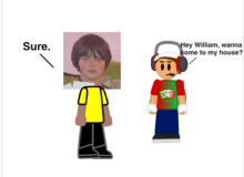 William talking to MrMinecraftMan404