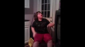 William Freaks Out And Loses It Because He Has To Goto Timeout