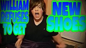 WILLIAM REFUSES TO GET NEW SHOES!!!