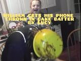 LUCY THROWS WILLIAMS PHONE IN CAKE BATTER