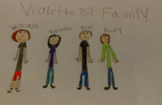 Fan Art of the Violette1st Family