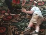 Zachary throws temper tantrum because he has to leave Paw Patrol Live