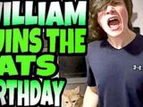 WIILLIAM RUINS THE CAT'S BIRTHDAY!!!