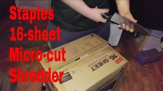 Violette1st Monster Paper Shredder Unboxing (YOU GOT TO CHECK THIS OUT!!!!)