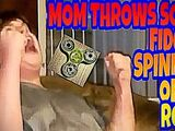 MOM GOES PSYCHO AND THROWS FIDGET SPINNER OFF A ROOF!!!