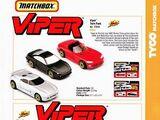 Matchbox Viper Unreleased Cars