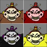 Ogre Skin Colors