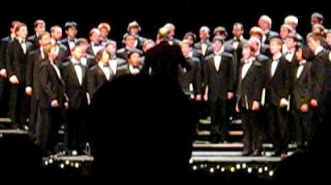 Duh Tvoy Blagíy- The Virginia Glee Club- Christmas Concert 08