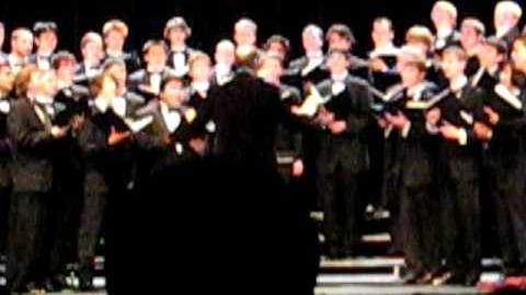 Carol of the Bells- The Virginia Glee Club- Christmas Concert 08