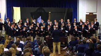 University of Virginia Glee Club Performance