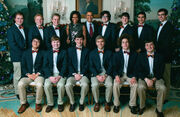 Virginia Gentlemen 2011 with the Obamas