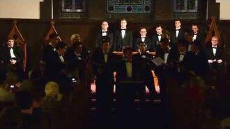 """Virginia Gleemen at VGC Finals Concert 2015-Gleemen - """"Beside You"""""""