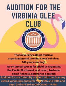 2019 gleeclub audition