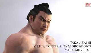 Virtua Fighter 5 FS - Video Movelist - Taka-Arashi