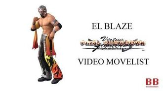 Virtua Fighter 5 FS - Video Movelist - El Blaze