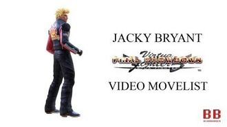 Virtua Fighter 5 FS - Video Movelist - Jacky Bryant