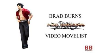 Virtua Fighter 5 FS - Video Movelist - Brad Burns