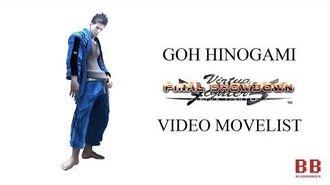 Virtua Fighter 5 FS - Video Movelist - Goh Hinogami