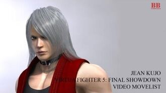 Virtua Fighter 5 FS - Video Movelist - Jean Kujo