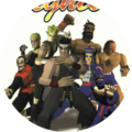 Virtua Fighter Button