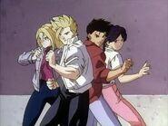 Virtua Fighter anime cast