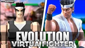 VIRTUA FIGHTER - Evolution