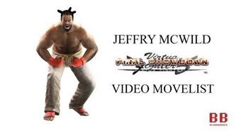 Virtua Fighter 5 FS - Video Movelist - Jeffry McWild