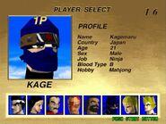 Kage-Maru Arcade Bio