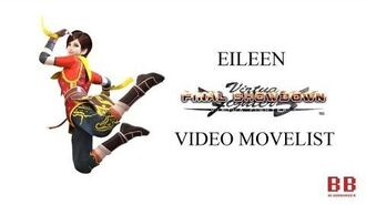 Virtua Fighter 5 FS - Video Movelist - Eileen