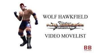 Virtua Fighter 5 FS - Video Movelist - Wolf Hawkfield