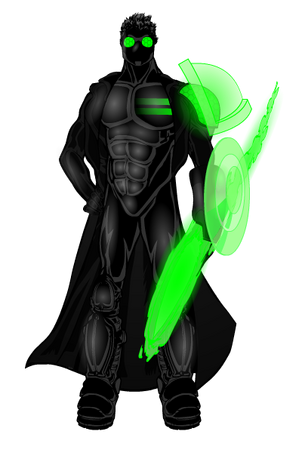 The invader suit by rexforte-d77d1jk
