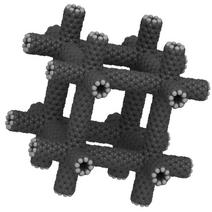 3D carbon nanotube array
