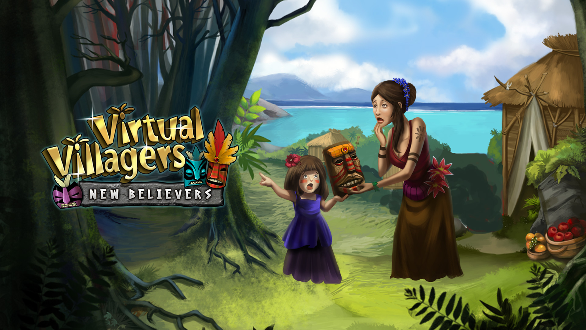 How to Dismantle the Blocking Totem in Virtual Villagers 5 picture