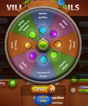 Lavastone Spin Wheel