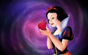 Snow white apple logo