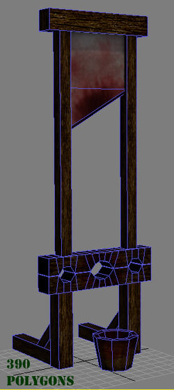 Guillotine wireframe