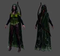 Rigged-textured-elven-archer